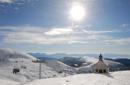 Schneevergnügen und Erholung