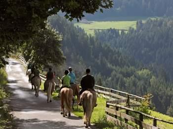 A cavallo a Merano e dintorni