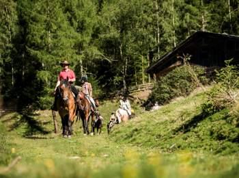 A cavallo nelle Valli di Tures e Aurina