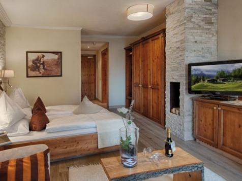 Doppelzimmer Landhaus  40 m² Alpenschlössl-1
