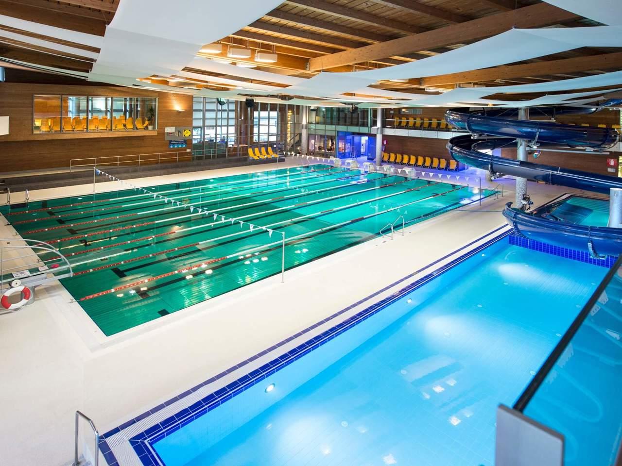 La piscina acquarena di bressanone alto adige - Piscine alto adige ...