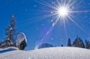 Alpen Sonne