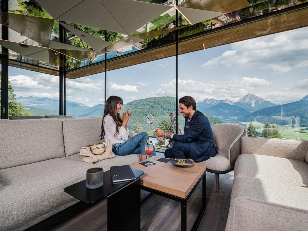 Alpen tesitin panorama wellness ferien in s dtirol auf for Designhotels in den alpen