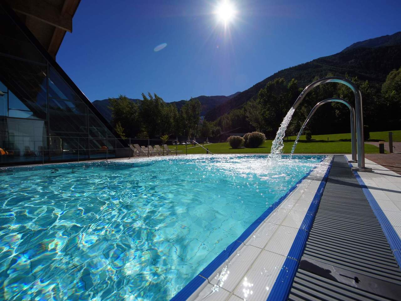 La piscina acquaforum a laces alto adige - Piscine alto adige ...
