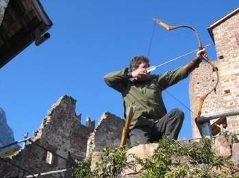 Archery trail in Eppan