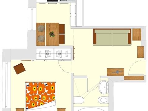 Apartment A2 - 1-2 Personen - 35m²-7