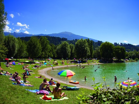 Baggersee bei Innsbruck