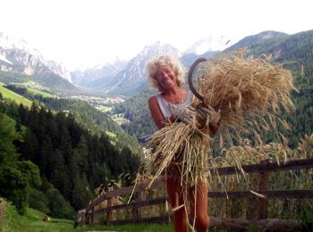 Bergbauernhilfe in Südtirol