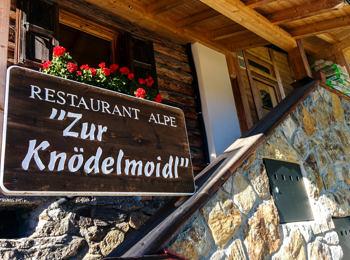 "Berggasthof ""Zur Knödelmoidl"""