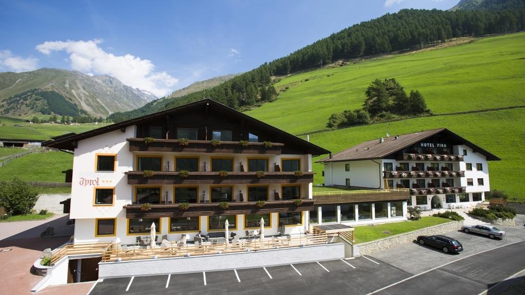 Berghotel tyrol firn in schnals meran und umgebung for Design hotel meran und umgebung