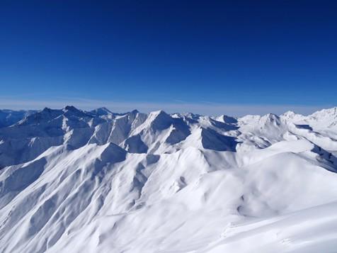 Berglandschaft in Serfaus
