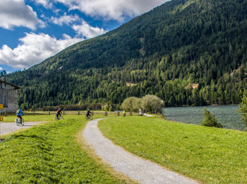 Bike path in Vinschgau/Val Venosta