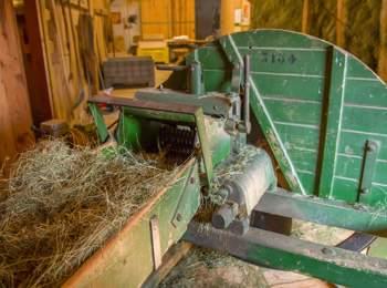 Biological hay by Walter Moosmair from Niedersteinerhof in St. Leonhard in Passeier