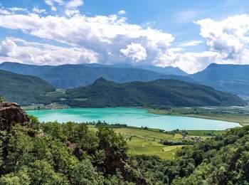 Blick auf den Kalterer See