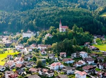 Blick auf Ehrenburg
