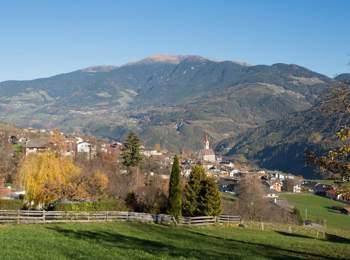 Blick auf Feldthurns