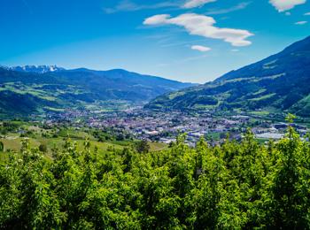 Blick over Brixen