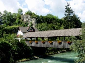 Bridge near St. Lorenzen