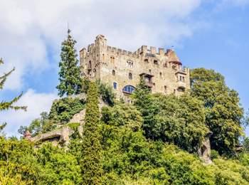 Brunnenburg Castle in Dorf Tirol