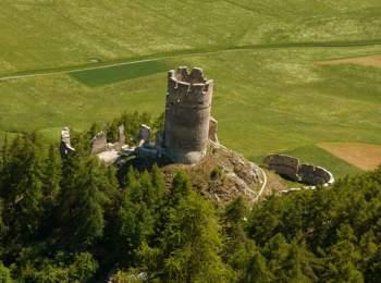 Burg Rotund in Taufers im Münstertal