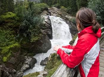 Burkhardklamm gorge in Maiern
