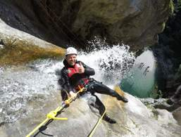 Canyoning at Lake Garda