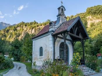 Cappella a Caines in Val Passiria