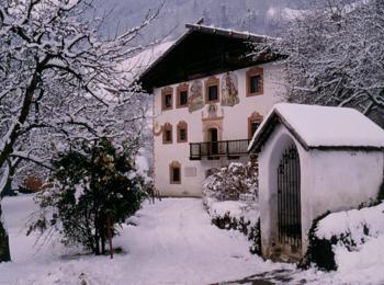 Casa dei pittori in inverno