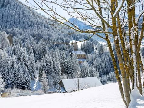 Castel Welsperg in inverno
