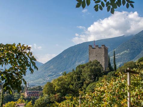 Castle ruins Ortenstein