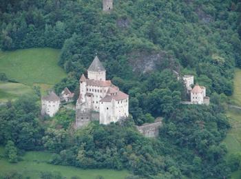 Castle Trostburg in Waidbruck