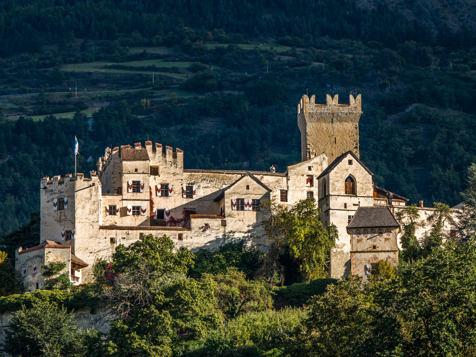 Churburg Castle in Schluderns