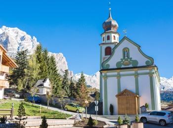 Church in St. Kassian