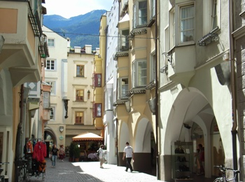 City centre of Brixen