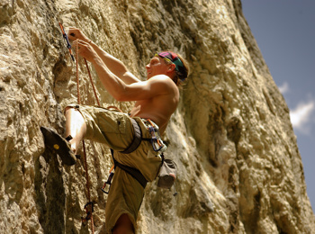 Climbing in South Tyrol