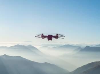 Con i droni in volo sopra l'Alto Adige