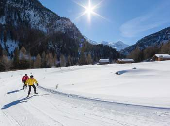 Cross-country skiing in Martell