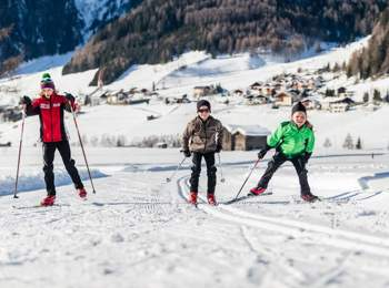 Cross-country skiing in Pfitsch