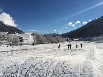 Cross-country skiing in Ridnaun