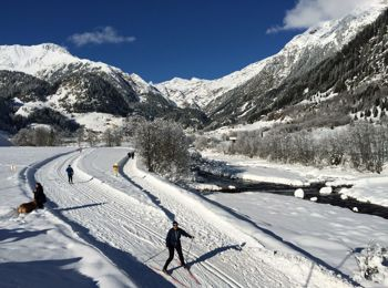 Cross-country skiing in Ridnaun