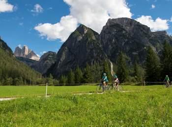 Cycle path Toblach-Cortina