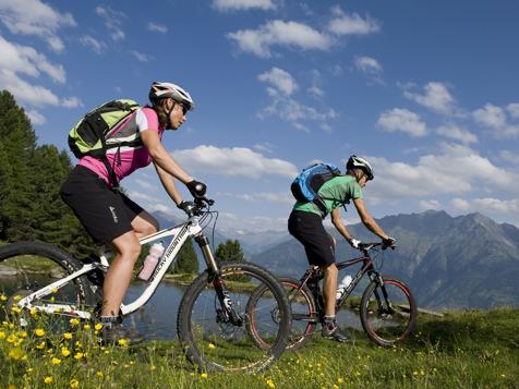 Cycling at Naturns