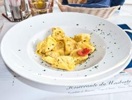 Delicious tortellini