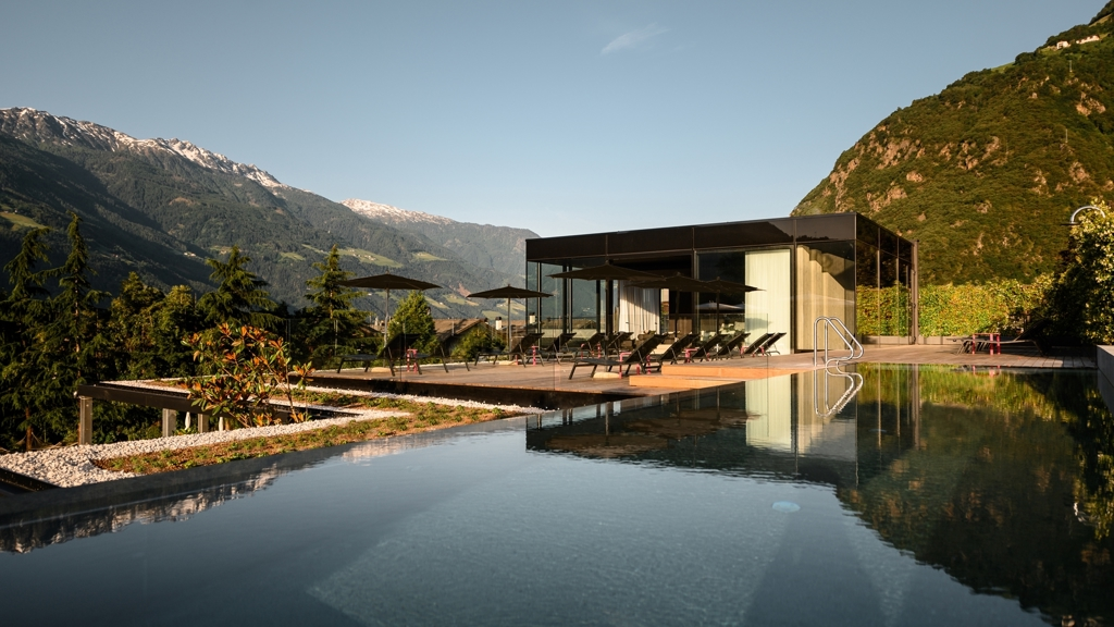 Design hotel tyrol in partschins rabland meran und for Hotel meran design