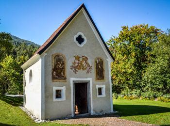 Die Friedhofskapelle von Ehrenburg