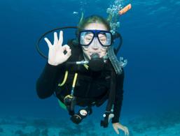 Diving at Lake Garda