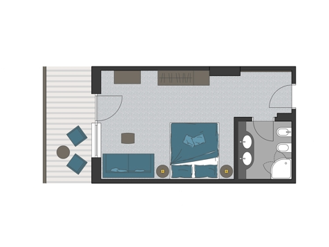 Doppelzimmer Bergfex-2
