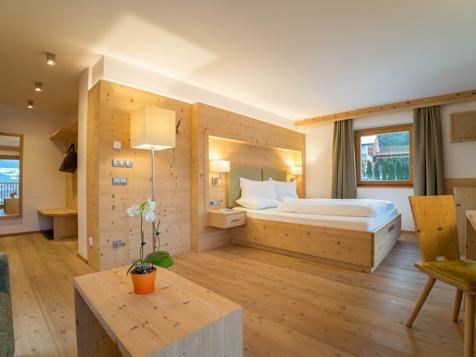 Doppelzimmer/Familienzimmer Talblick mit Balkon-1
