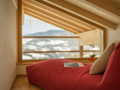 Doppelzimmer Mansarde mit Talblick und Balkon-4