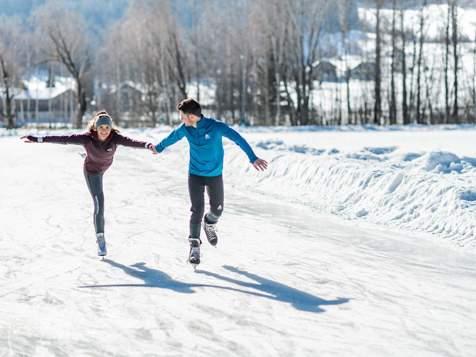Eislaufen in Bruneck